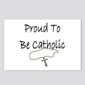Proud to be Catholic Postcards (Package of 8)