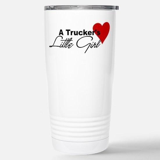 Trucker's Little Girl Stainless Steel Travel Mug