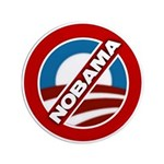 """NOBAMA 3.5"""" Button (100 pack)"""