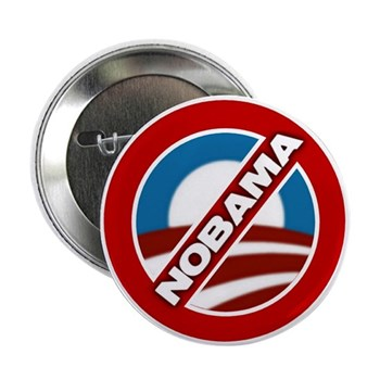 """NOBAMA 2.25"""" Button (100 pack)"""