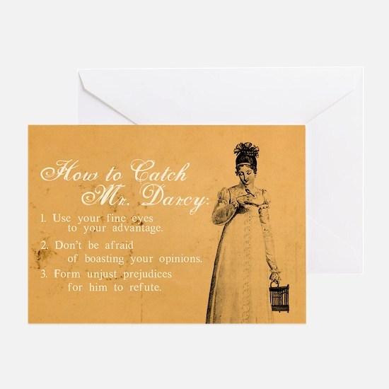 Mr. Darcy Greeting Card