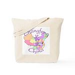 Changfeng China Map Tote Bag
