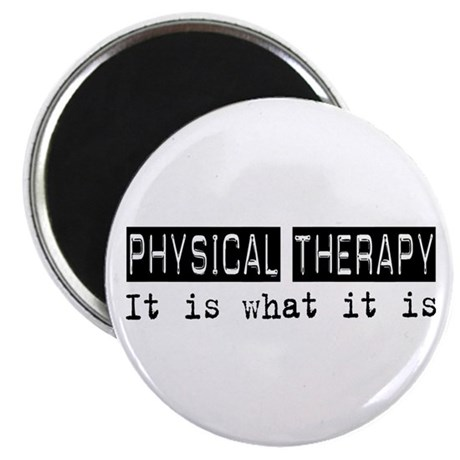 """Physical Therapy Is 2.25"""" Magnet (10 pack)"""