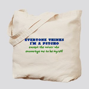 Psycho Voices Tote Bag