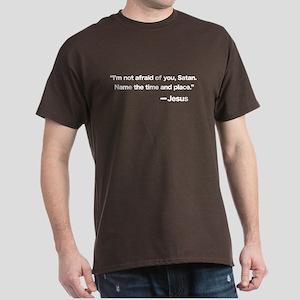 Challenge to Satan Dark T-Shirt