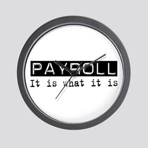 Payroll Is Wall Clock