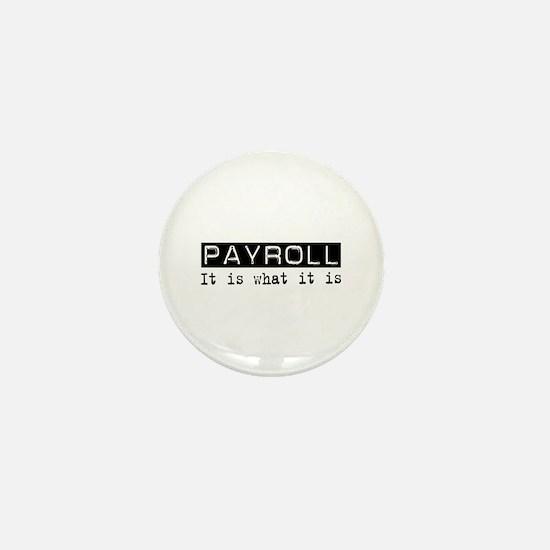 Payroll Is Mini Button