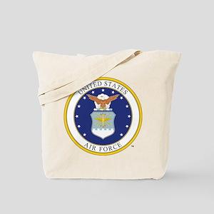 Air Force USAF Emblem Tote Bag
