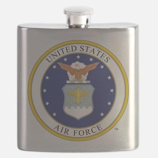 Air Force USAF Emblem Flask