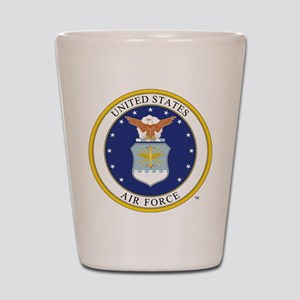 Air Force USAF Emblem Shot Glass