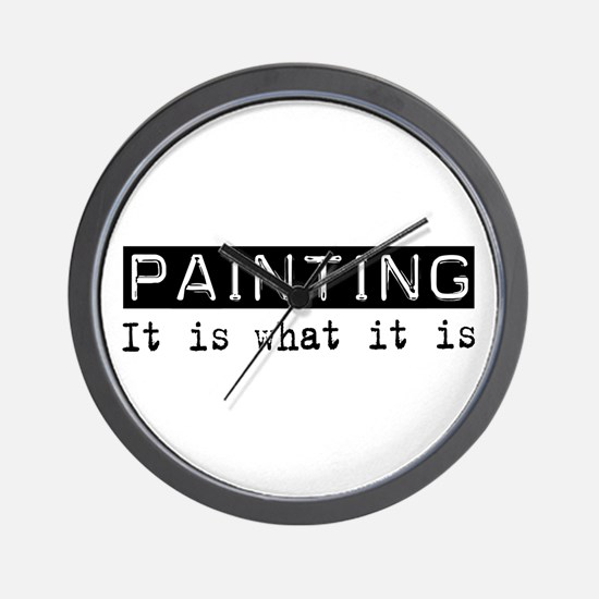 Painting Is Wall Clock