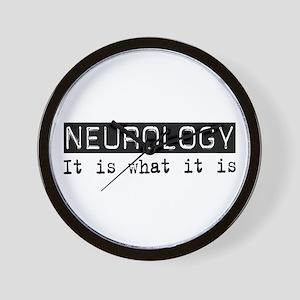 Neurology Is Wall Clock