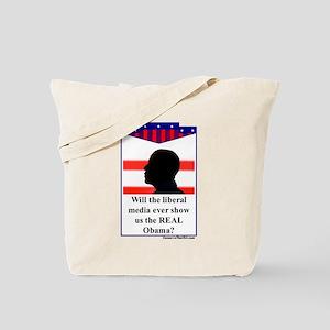 """""""The Liberal Media"""" Tote Bag"""
