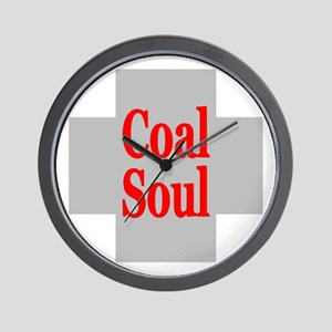 Coal Soul Wall Clock