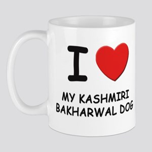 I love MY KASHMIRI BAKHARWAL DOG Mug