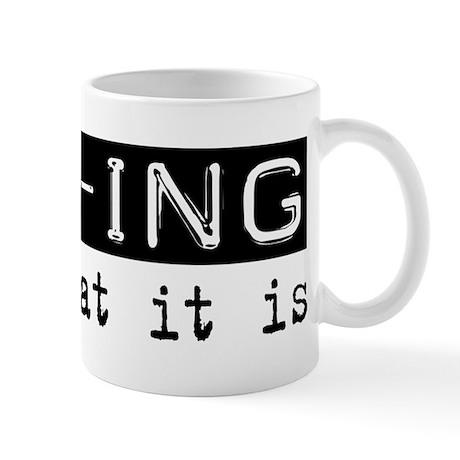 MBA-ing Is Mug