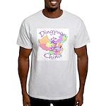 Dingyuan China Map Light T-Shirt