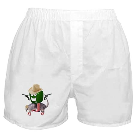 Sheriff Green Pepper Boxer Shorts