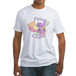 Feidong China Map Fitted T-Shirt