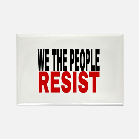 We The People Resist Magnets