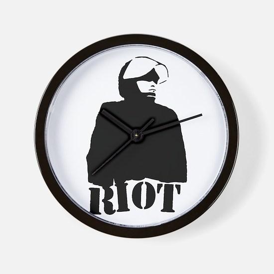 Riot Wall Clock