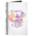 Fuyang China Map Journal