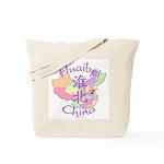 Huaibei China Map Tote Bag