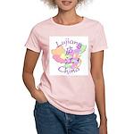 Lujiang China Map Women's Light T-Shirt