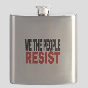We The People Resist Flask