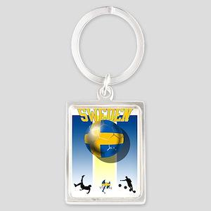 Swedish Football Keychains