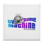 TV Time Machine Tile Coaster