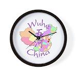 Wuhe China Map Wall Clock