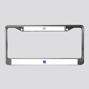 I'm perfectly normal for a Pai License Plate Frame