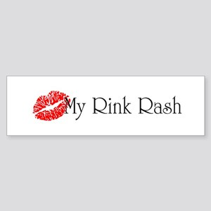 Kiss My Rink Rash Sticker (Bumper)