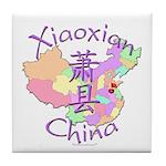 Xiaoxian China Map Tile Coaster