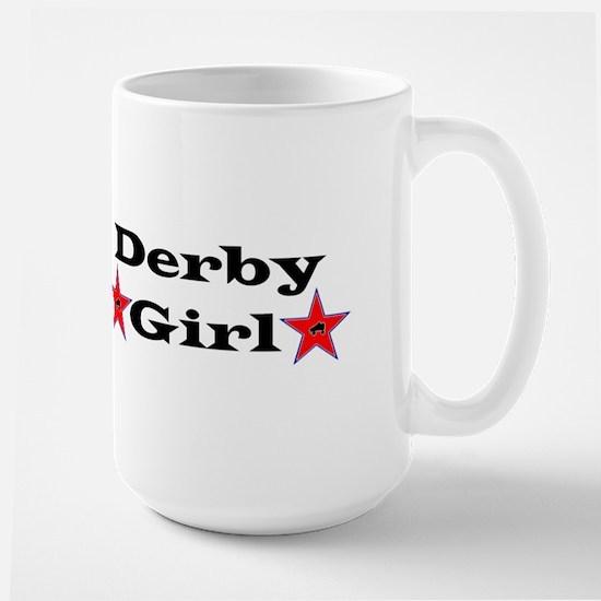 Derby Girl - Star Large Mug