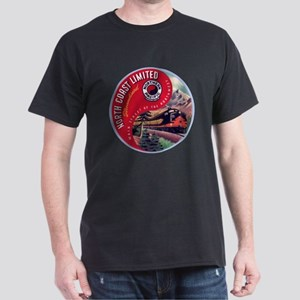North Coast Railroad Dark T-Shirt