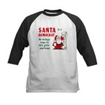 Santa is a Democrat Kids Baseball Jersey