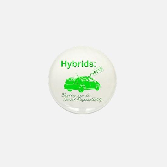 Hybrids: Social Responsibility Mini Button