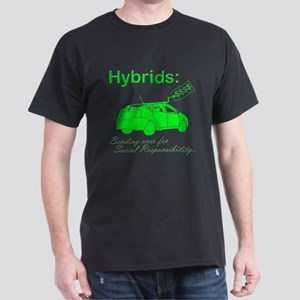 Hybrids: Social Responsibility Dark T-Shirt