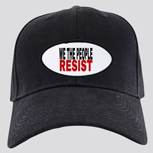 We The People Resist Black Cap with Patch