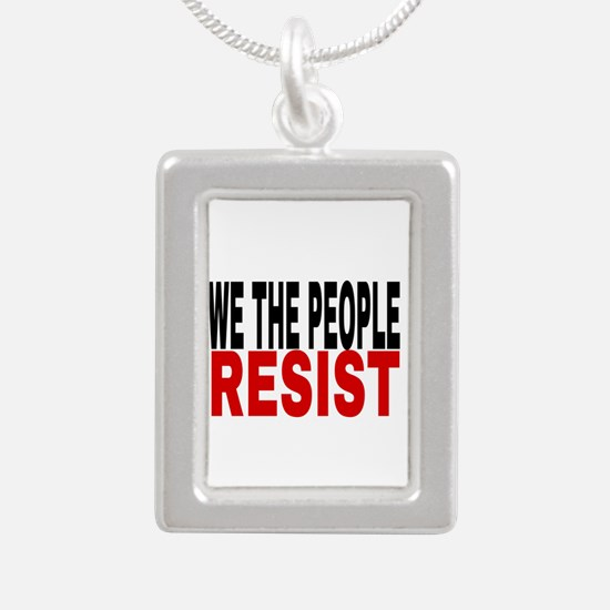 We The People Resist Necklaces