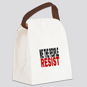 We The People Resist Canvas Lunch Bag