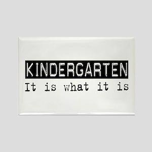 Kindergarten Is Rectangle Magnet