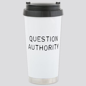 Question Authorit 16 oz Stainless Steel Travel Mug