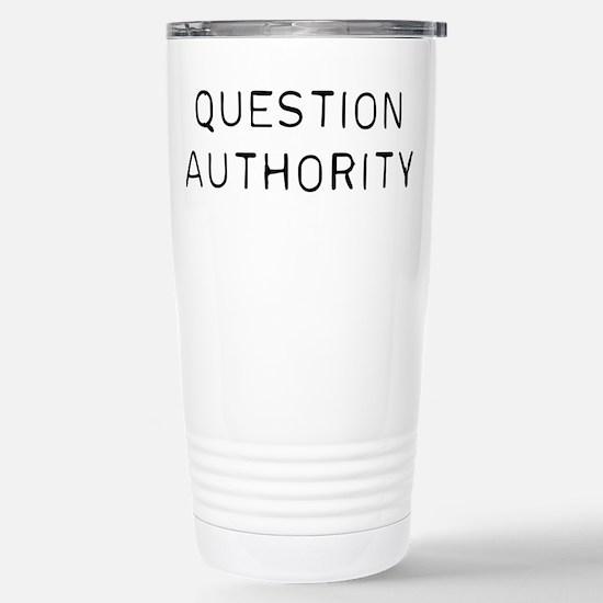Question Authorit Travel Mug