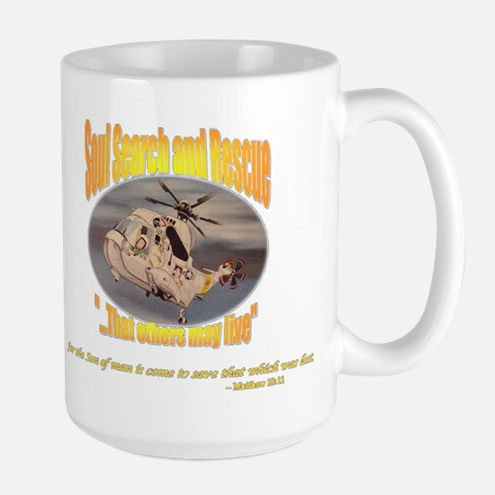 Christian Soul Search and Rescue Large Mug