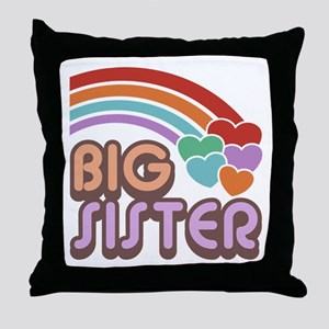 Big Sister Throw Pillow