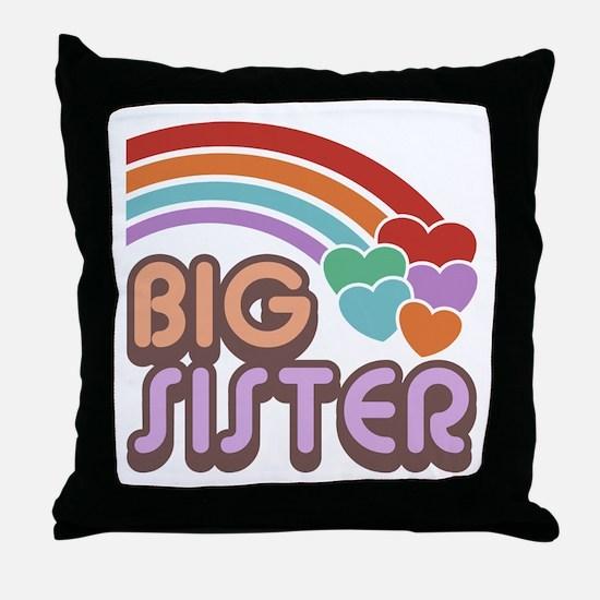 Big Sister Throw Pillow
