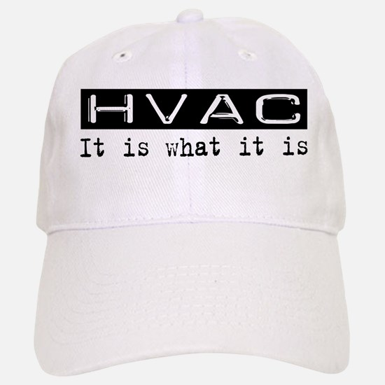 HVAC Is Baseball Baseball Cap
